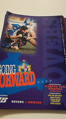 16.3.97 Featherstone Rovers v Swinton Lions programme