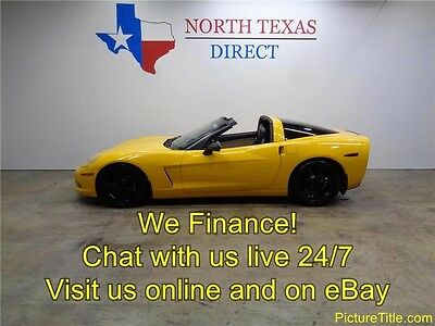 2005 Chevrolet Corvette  05 Corvette 6-Speed Targa Top Leather Heated Seats Warranty Texas We Financ