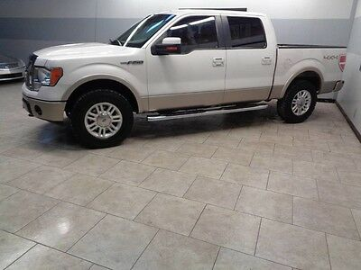 2010 Ford F-150  10 F150 4x4 Lariat Leather Heated Cooled Seats We Finance 1 Texas Owner