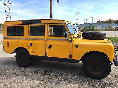 1964 Land Rover Defender  Land rover Series IIA 109