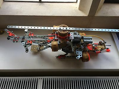 Meccano Multi Model Set 9550 - Helicopter - Plus Job Lot from Second Set