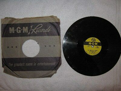 Connie Francis 78rpm Schellackplatte - Who's sorry now / You were only fooling