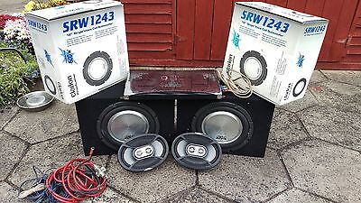 In car sound system complete set