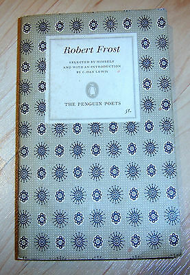Robert Frost Selected Poems Paperback 1965 DAMAGED: FOUR PAGES MISSING
