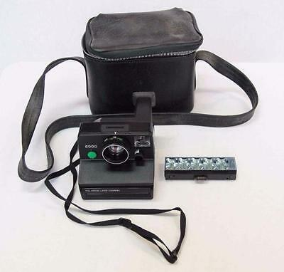 Vintage Instant Polaroid Land Camera 2000 With Bag #10418