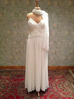 Vintage Ivory Wedding Dress RRP £600 Size 14 Brand New