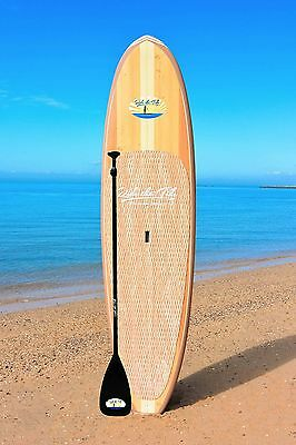 RIDE THE TIDE SUP WOODY SUNBORA Stand Up Paddle Board + ADJUSTABLE Paddle