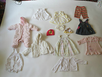 Bundle Baby Clothes Girl Brand Disney M&S Mothercare Brand Newborn 0-3 Months