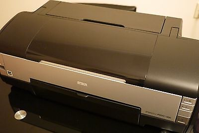 Epson Stylus Photo 1400 Printer A3 with Lyson ink and refillable cart's