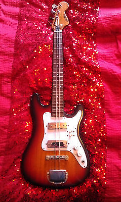 1960's (Sixities)Vintage Short Scale Bass Guitar by Satellite - Serial No: 66/W