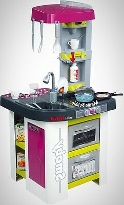Studio Kitchen Play Set Bubbles Realistic Functions Feature 26 Accessories