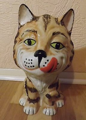 Lorna Bailey Huge Cat Yummy Limited Edition 24/50