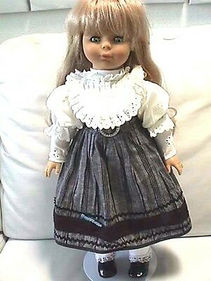 """Engel Puppe German Doll  Blond Blue Eyes 20""""Collectible"""
