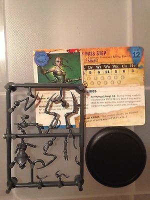 Malifaux Arcanists MISS STEP LIMITED EDITION
