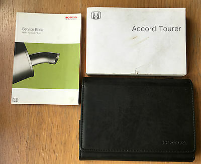 Honda Accord Tourer Owners Manual Handbook Pack Wallet And Service 2002-2008