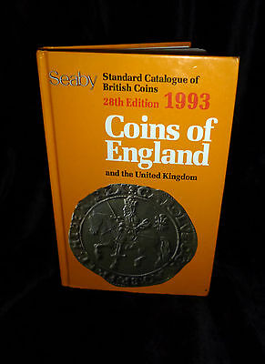 SEABY 1993 COINS OF ENGLAND and The United Kingdom - 28th Edition