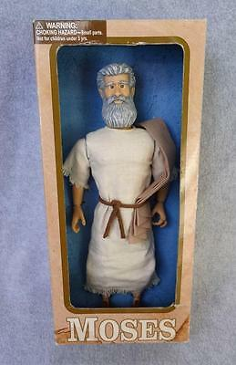 """MOSES 11"""" Talking Doll Messengers of Faith one2believe jesus christianity bible"""