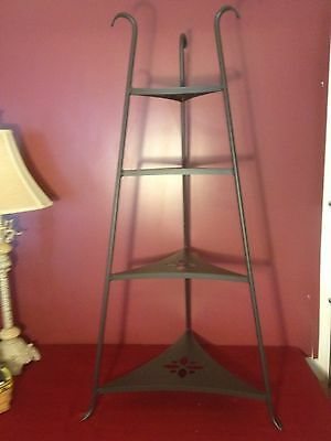 Longaberger FOUNDRY WROUGHT IRON BOWL STAND ~