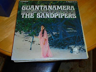 LP/ THE SANDPIPERS /GUANTANAMERA (1970s USA A & M
