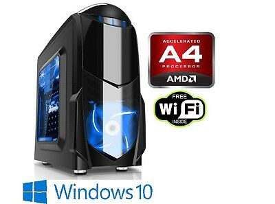 Ultimate PC Trident X - Fast 3.7GHz Dual Core 2TB 8GB Desktop Computer
