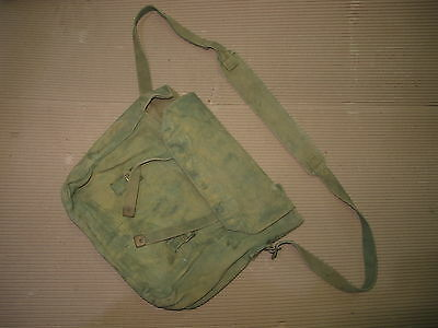 WW2 British Army 1937 pattern webbing Haversack P37 Small Pack & Strap Camo #2