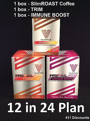 Valentus Prevail 12in24 Combo Pack 1 Slimroast Coffee 1 Trim 1