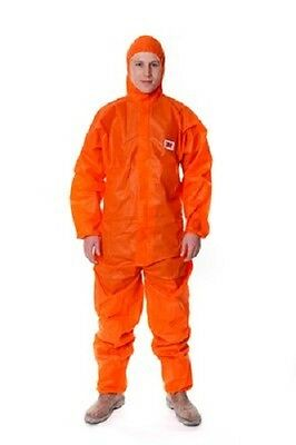 3M 4515 Disposable Protective Coverall Type 5/6 Orange (BOX OF 20) | AUTH DEALER