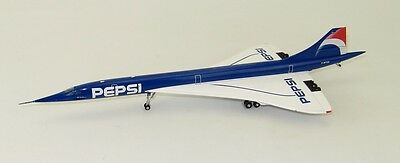 Jc Wings 1:200 Air France Pepsi Concorde Diecast With Stand
