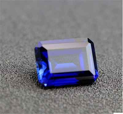 EXQUISITE ROYAL BLUE TANZANITE 10.01CT 10x14MM RECTANGLE CUT AAAA LOOSE GEMSTONE