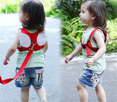 Safety Harness Strap Baby Kid Toddler Walking Backpack Reins Bag Portable Gift