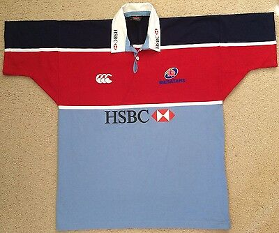 NEW Authentic NSW Waratahs Rugby Union Jersey Mens XL Canterbury