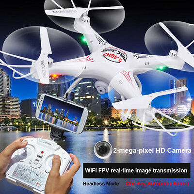 SHENGKAI D97 RC Quadcopter with WIFI FPV HD Camera 4CH 2.4G 6 Axis Drone White #