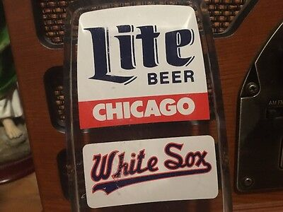 chicago white sox lite beer tap 6.25 inches