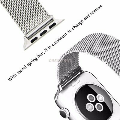 For All Model Apple Watch Series 3-2-1 Le Veil HQ Watch Band + Free Cover