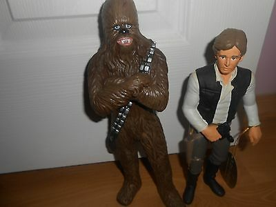 Star Wars Suncoast Out of Character vinyl Han solo and Chewbacca