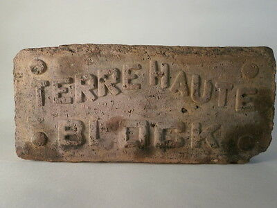 Terre Haute block brick from Terre Haute Indiana
