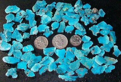 OCL - NATURAL UNTREATED SLEEPING BEAUTY TURQUOISE ROUGH - #101t - 116 GRAMS