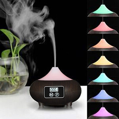 LED Ultrasonic Aroma Diffuser Essential Oil Humidifier Air Aromatherapy#Purifier