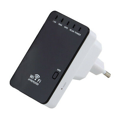 300Mbps Wireless-N Mini Router Wifi Repeater signal range of power amplifier #