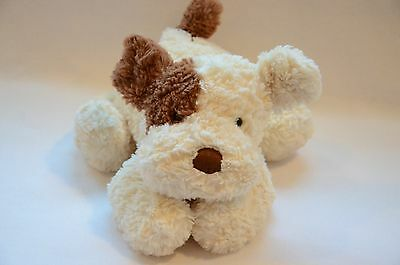 """JELLYCAT TUMBLIE BISCUIT BROWN & CREAM PUPPY DOG 14"""" long STUFFED PLUSH"""