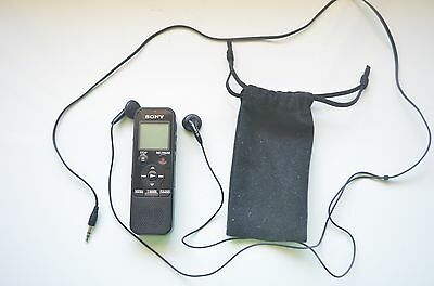 Sony PX440 Black 4GB Digital Voice Recorder Dictation (in perfect condition)