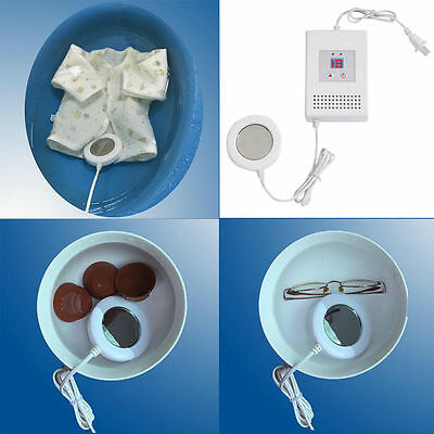 Mini Portable Smart Ultrasonic Cleaner Clothes Jewelry Glasses Washing Machine