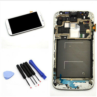 1Set For Samsung Galaxy S4 i9505 LCD Display Touch Digitizer Screen Frame # Tool