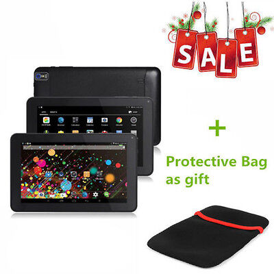 "9"" Android 4.4 A33 Quad Core 16G Pad Dual Camera Wifi Bluetooth Tablet PC New #"