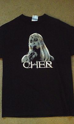 Cher 2003 Farewell concert tour shirt used M