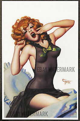 1940's Enoch Bolles Authentic Pin-Up Poster Art Print 11x17