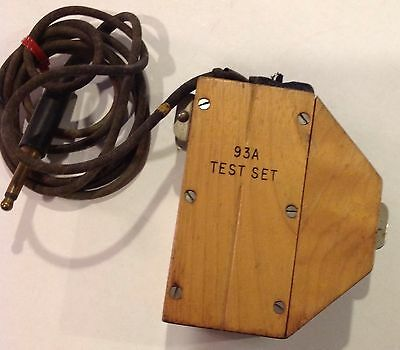 Telephone Test Set 93A - Appears In Excellent Shape