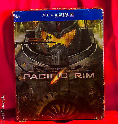 PACIFIC RIM Blu-Ray Steelbook Limited Edition Region Free BRAND NEW