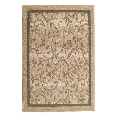 New olefin fireplace hearth rug flame resistant   31x45