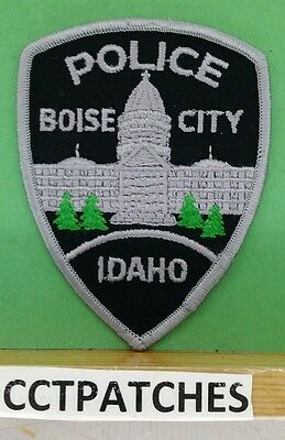 Boise City, Idaho Police Subdued Shoulder Patch Id